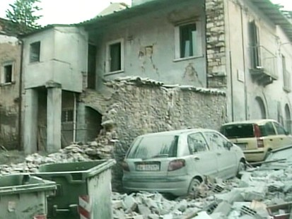 VIDEO: Earthquake in Italy