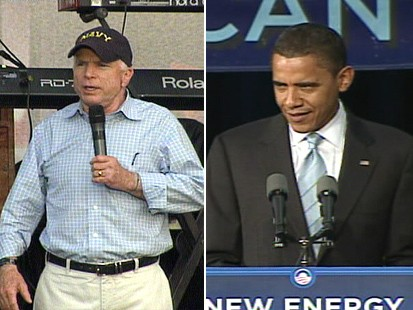 Sens. McCain and Obama