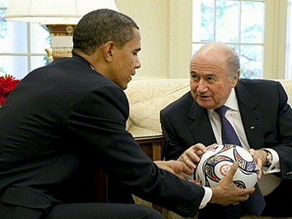 VIDEO: Obama the Sports Lobbyist?