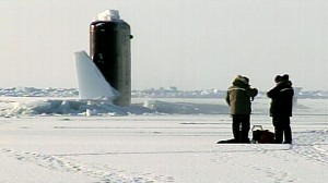 VIDEO: Arctic sub