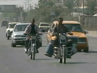 VIDEO: Gaza Biker boys have a little fun in a place that can be pretty bleak.