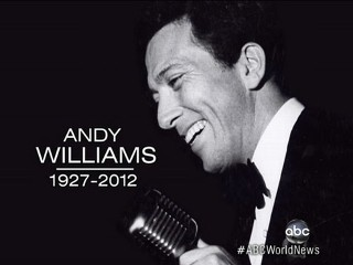 Watch: Andy Williams Dead: 'Moon River' Singer Remembered