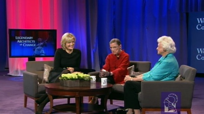 VIDEO: A Chat With Ruth Bader Ginsburg and Sandra Day O'Connor