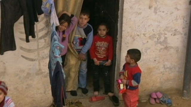 VIDEO: Refugees pour into Lebanese city, overcrowded camps in need of aid.