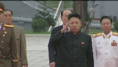VIDEO:North Korea celebrate anniversary with surprising access to leader Kim Jong Un.