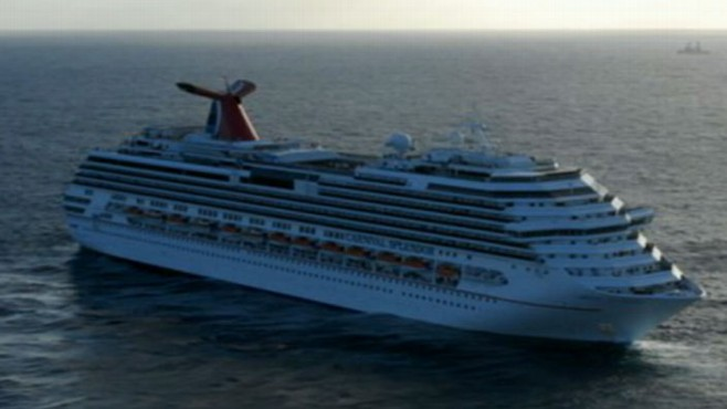 VIDEO: Phone calls describe conditions as dark and smelly aboard Carnival cruise ship.