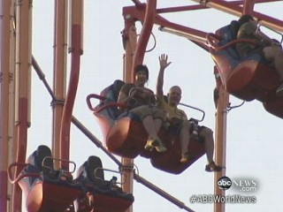 Watch: Amusement Park Ride Goes Awry