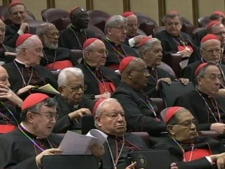 Watch: Man Tries to Infiltrate Meeting of Cardinals in Rome