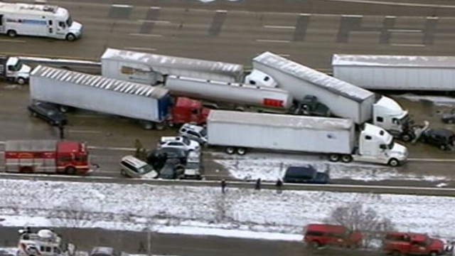 VIDEO: Monster winter storm causes havoc nationwide.