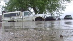VIDEO: Fierce rainfall in Plains, South Texas creates dangerous Memorial Day weekend weather.