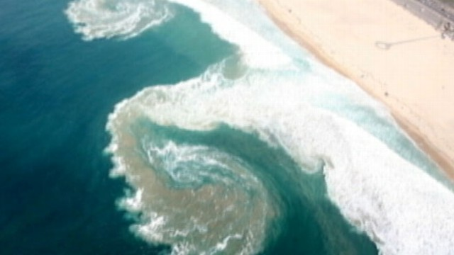VIDEO: More people die from rip currents than lightning, hurricanes and tornadoes combined.
