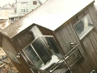 Watch: Winter Storm Delivers New Blow to Northeast
