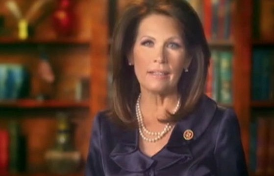 VIDEO: Former presidential contender and Tea Party champion announced she would not seek a fifth term.