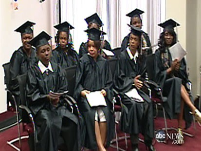 Video: DC moms graduate to a second chance.