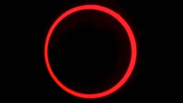 VIDEO: Ring of sunlight visible as new moon passes between Earth and the sun.