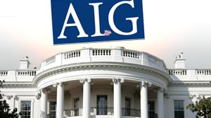 IMAGE: White House and AIG