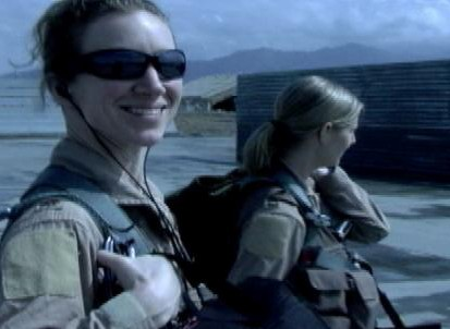VIDEO: The ?Dudette 07? carries out the first all-female flight mission in Afghanistan