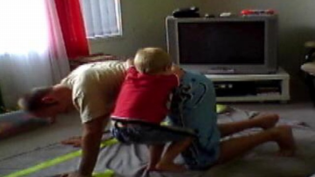 VIDEO: Why fathers should wrestle with their kids