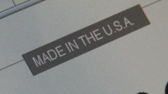 VIDEO: See how one blogger did trying to buy only made in America products for one year.