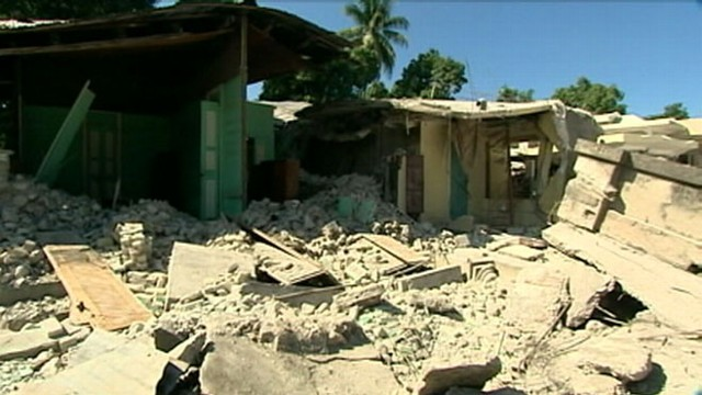 VIDEO: The people of Leogane say theyve been forgotten as Port-au-Prince receives aid.