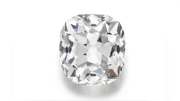 PHOTO: This is an undated image issued by auction house Sotheby's, on May 22, 2017, of a large 26.27 karat diamond ring,