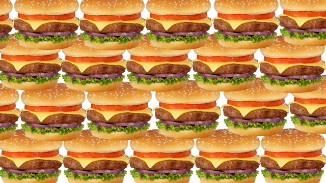 PHOTO: Police are looking for the person responsible for stealing $100,000 worth of hamburger patties destined for shipment overseas.