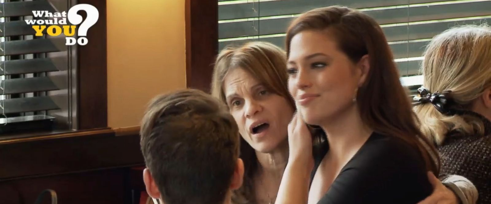 VIDEO: 'What Would You Do?': Ashley Graham plays girlfriend meeting boyfriend's parents