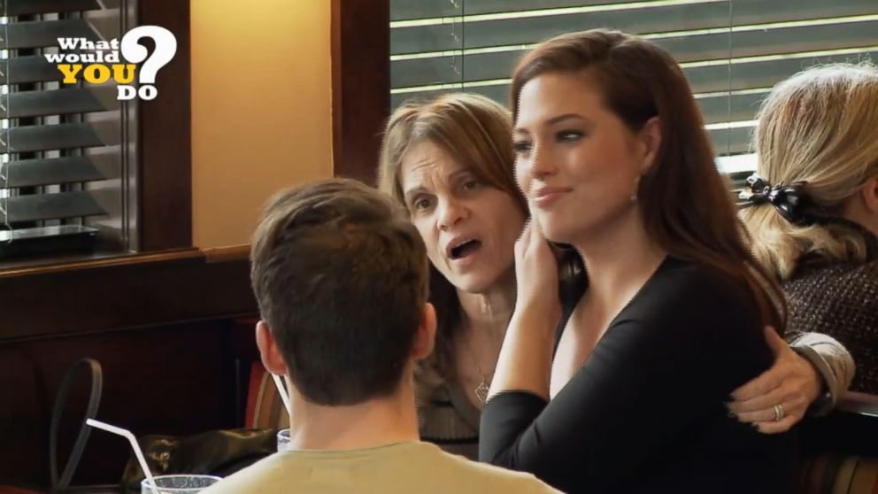 VIDEO: What Would You Do?: Ashley Graham plays girlfriend meeting boyfriends parents