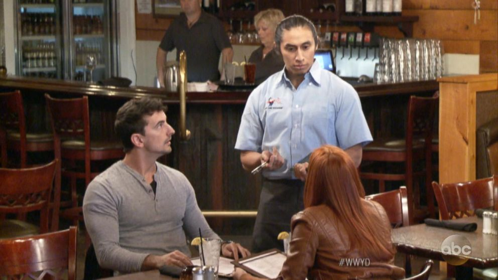 VIDEO: What Would You Do: Customers discriminate against Hispanic waiter