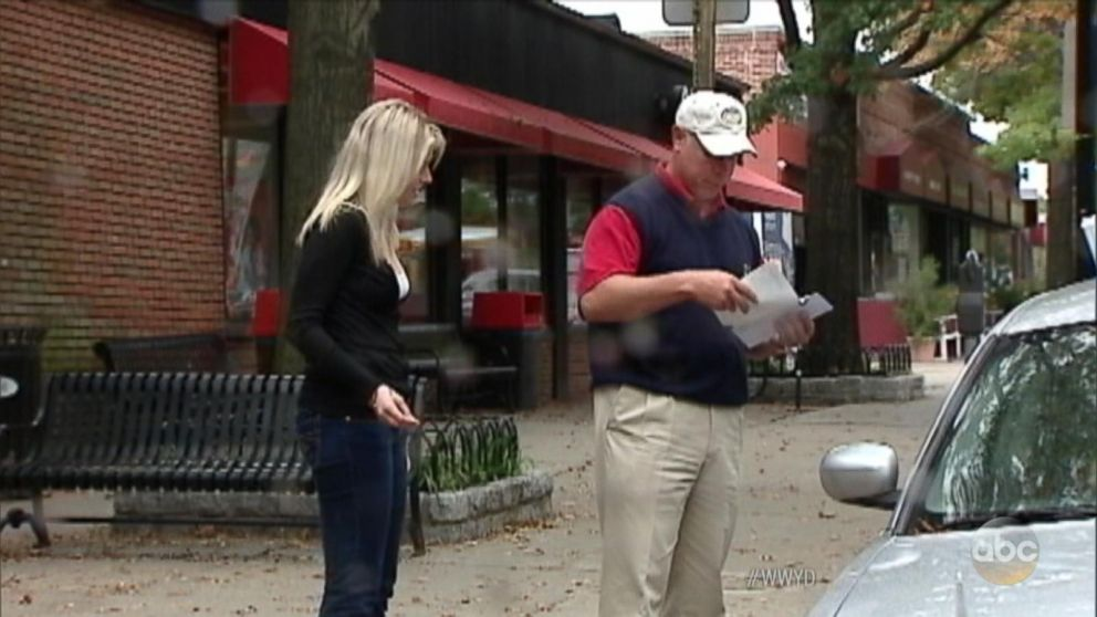 VIDEO: What Would You Do: Motorist asks for assistance with flat tire
