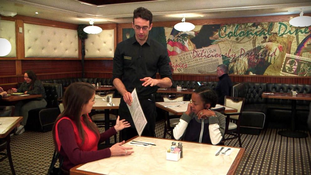 VIDEO: What Would You Do: Diners become upset over OCD waiter