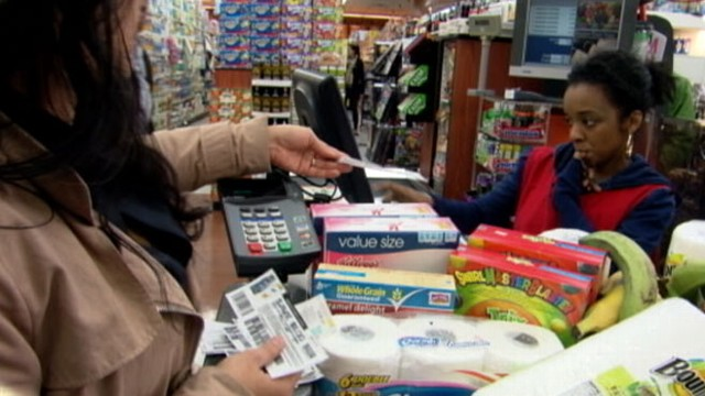 "VIDEO: Will customers waiting behind an ""extreme couponer"" lose their cool?"