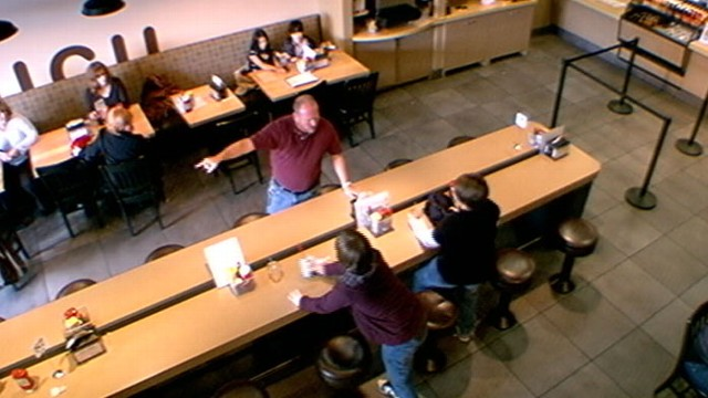 "VIDEO: Anti-gay jibes provoke strong reactions from patrons in a ""WWYD"" scenario."