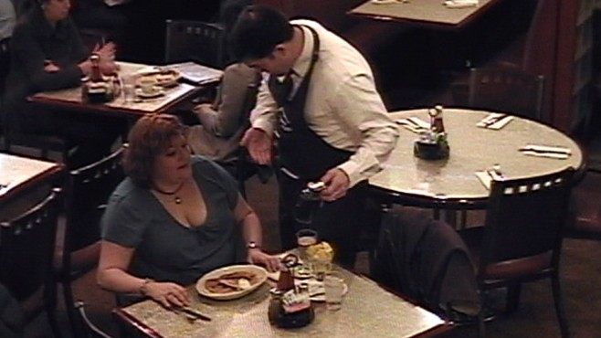 VIDEO: What would you do if you saw a waiter mistreat a heavyset woman?