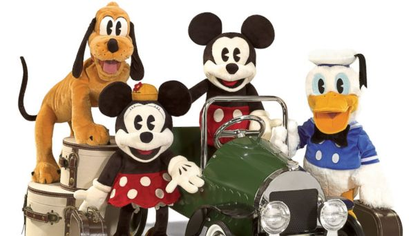 PHOTO: Vintage Disney Puppets from Folkmanis