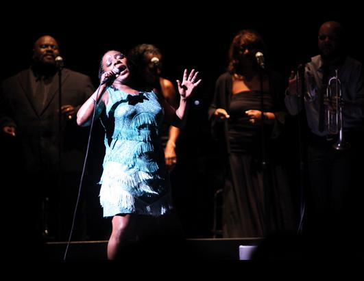 From Prison Guard To R&B Queen, Sharon Jones Lights Up The Stage