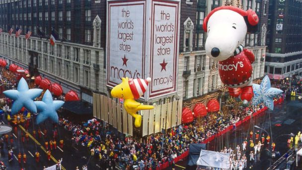 ht macys Snoopy Woodstock kb 131112 16x9 608 Snoopy Gets a Face Lift in Macys Thanksgiving Parade