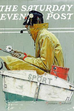 ht sothebys norman rockwell sport fishing thg 131009 2x3 384 Norman Rockwell Paintings Are Popular With Thieves