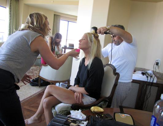 Behind the Scenes of the Emmy's with Gwyneth Paltrow