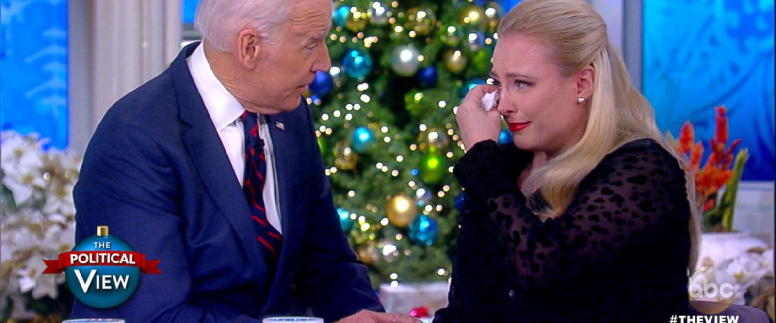 VIDEO: Joe Biden speaks with Meghan McCain about his late son Beau's battle with cancer