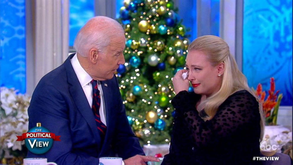 WATCH: Joe Biden speaks with Meghan McCain about his late son Beau's battle with cancer