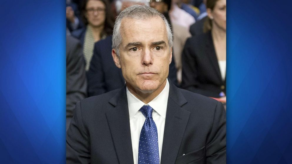 Former FBI Deputy Director Andrew McCabe fired hours before he was set to retire