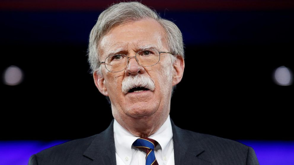 John Bolton replacing McMaster as national security adviser