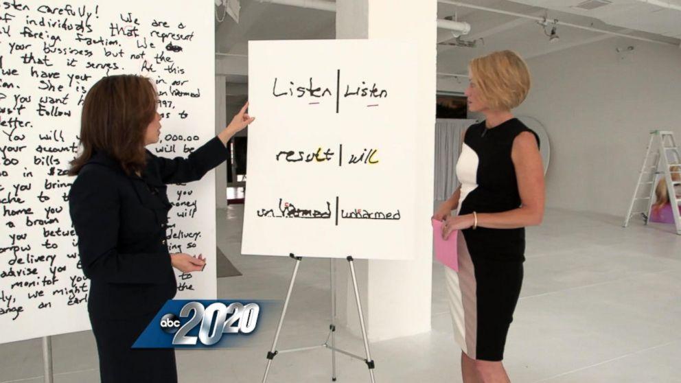 Patsy ramsey handwriting analysis comparison