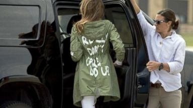 Being Melania - The First Lady Part 3: Melania Trump on immigration, 'the jacket'