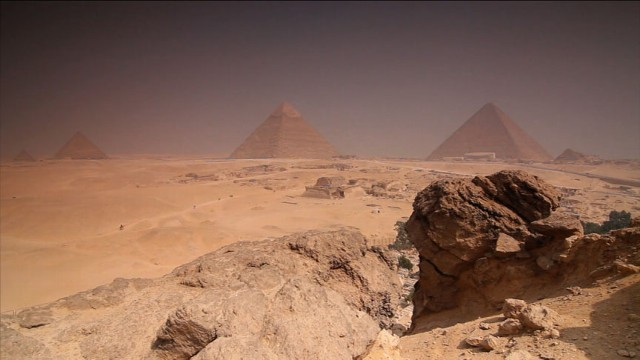 moses land who built egypts ancient pyramids video