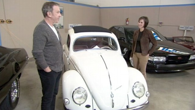 Inside Tim Allen S Incredible Garage Video Abc News