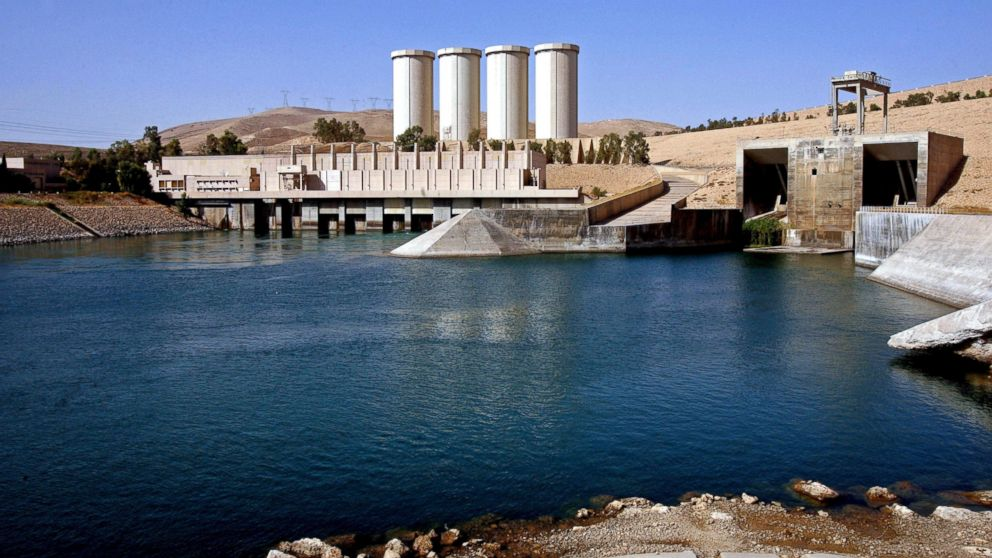 Mosul Dam Why Control Of A Terrifying Dam In Iraq Is Life