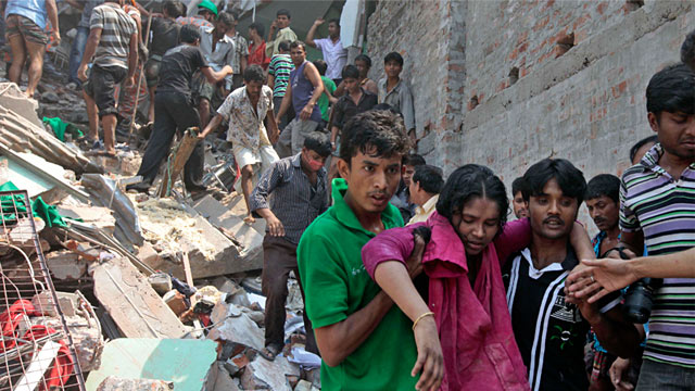 AFTER the Rana Plaza clothing factory near Dhaka collapsed in April, killing at least 1, people, the big Western clothing companies that have their garments run up in Bangladesh came under.