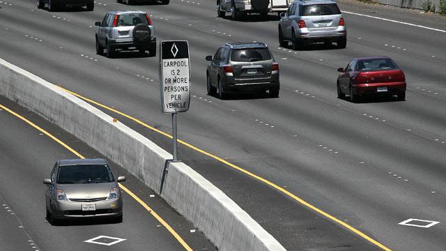 California Hov Stickers >> Dear ABC News Fixer: Driving Solo in the Carpool Lane ...